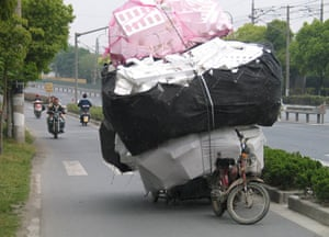 Rather a lot to ask of one small motorbike