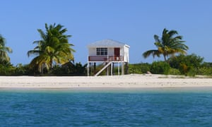 North Beach hut, Barbuda