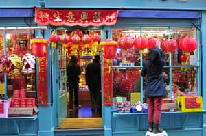 Chinese New Year 2013: China Town in London prepares to celebrate Year of the Snake