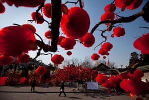 Chinese New Year 2013: Ditan Park in Beijing