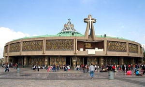 Basilica of Guadalupe built between 1974 and 1976