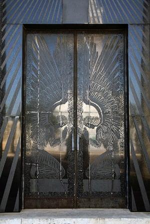 Havana art deco: Lasa Mausoleum doors by Rene Lalique, Columbus Gallery, Havana