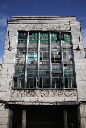 Havana art deco: El Pais newspaper building, Centro Habana
