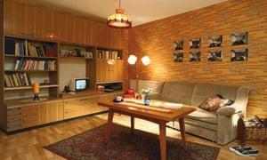 Typical GDR living room