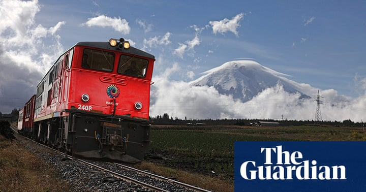 Ecuador's great train line reopens this summer – in pictures