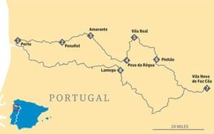 Douro map
