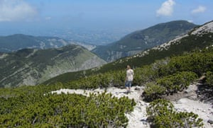 View from Monte Cavallo looking towards the Adriatic.