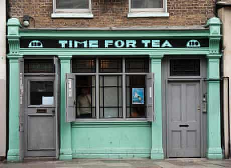 Time for Tea, Shoreditch High Street, London