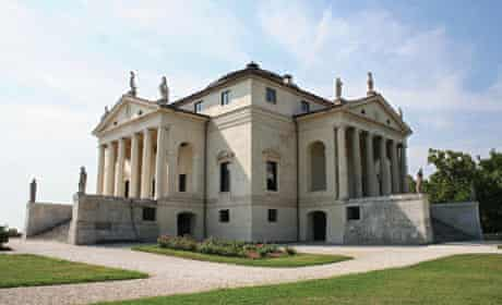 The Villa La Rotonda  is one of many Venetian buildings designed by the fabled architect Andrea Pall