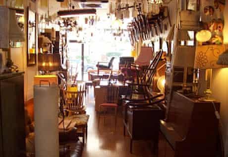 Vintage shop, Eighty-Seven, Blackstock Road, Finsbury Park, London
