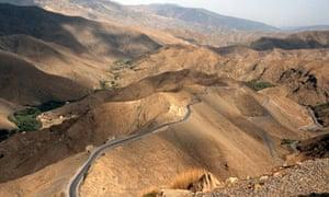 Tizi n Tichka Pass High Atlas Mountains Morocco