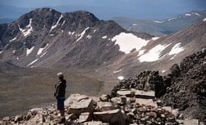 Climbing Quandary Peak, Breckenridge.