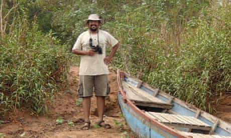 Bejoy Issac (nicknamed Baloo) is the resident naturalist at Ken River Lodge in India's Panna nationa