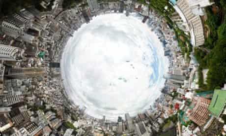 360 Tokyo Tower Gigapixel Panorama