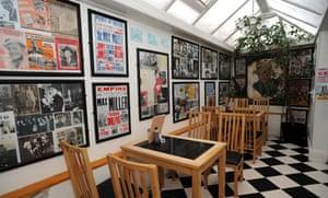 The Max Miller room at Bardsley's