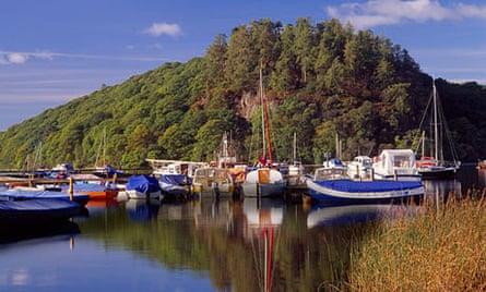 Inchcailloch island, Loch Lomond.