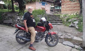 Simon Gandolfi in Manali, India