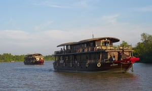 A Bassac cruise on the Mekong delta