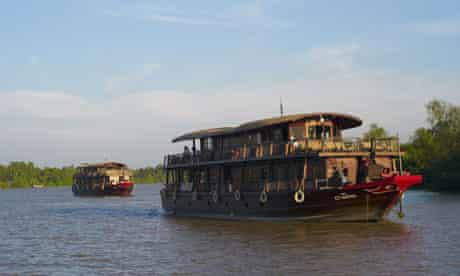 A Bassac cruise on the Mekong delta