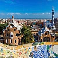 Gaudí's Park Guell, Barcelona