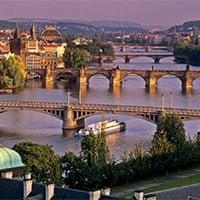 The Danube, Prague.