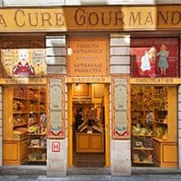 Traditional sweet shop, Brussels.