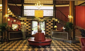 Lobby of Atlanta Hotel in Bangkok