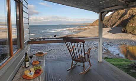 The Beach Hut, near Bude, Cornwall