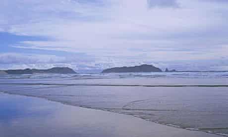 Twilight Beach, New Zealand.