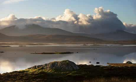 The South Uists in the Western Isles of Scotland.