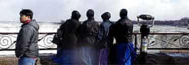 Mennonites at Niagara Falls