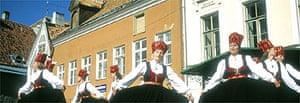 Folk dancing festival, Tallinn