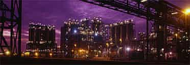Sky at night, Rotterdam
