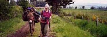 Hilary and Kenneth on the Stevenson Trail