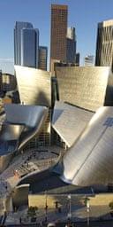 Gehry's Walt Disney concert hall, LA