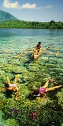 Snorkeling, Sulawesi, Indonesia