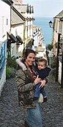 Nikki and Sammy in Devon