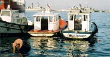 Boats in Chile