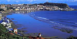 South bay and castle, Scarborough