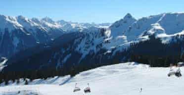 Skiing, Austria