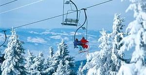 Chairlifts in Kopaonik