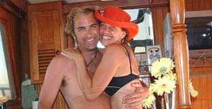 True love... Jennifer Cox with Garry