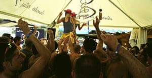 The Benicassim festival, Valencia