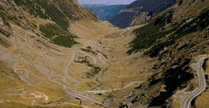 The Transfagarasan Highway, Romania