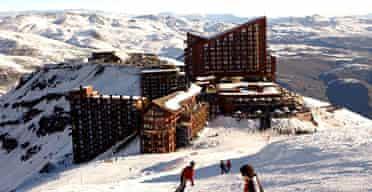 Valle Nevado ski resort, Chile