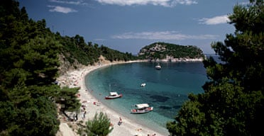 Stafilos beach, Skopelos, Greece