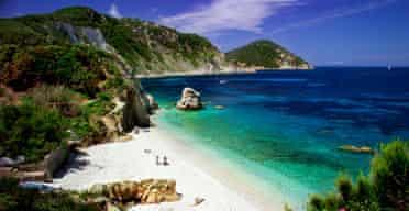 Portoferraio beach, Elba