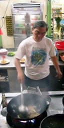Cooking in Penang, Malaysia