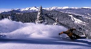 Snowboarder, Vail USA