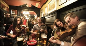 Folk music, Sandy Bells, Edinburgh